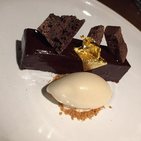Simpsons Restaurant: Chocolate dessert