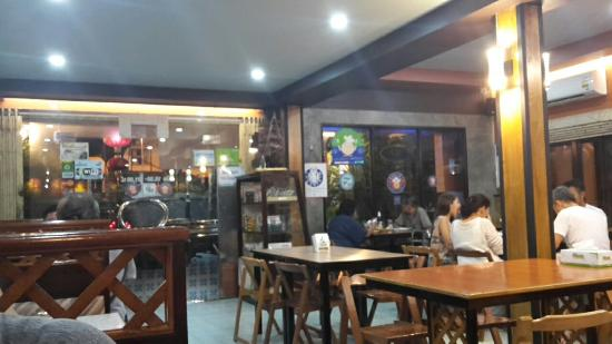 ร้านอาหาร สีฟ้าไลฟ์สไตล์ฟู้ด ตรัง
