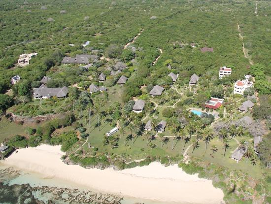 Hillpark Hotel - Tiwi Beach : Aerial View