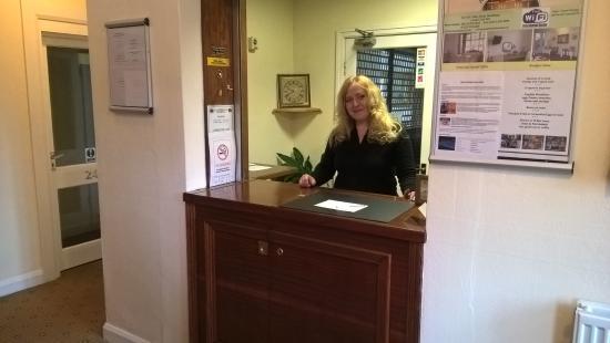 Ascot Grange Hotel: Reception