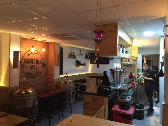 Photo of Restaurant Charlotte's Grill at Carrer Sant Carles, 2, Badalona 08911, Spain