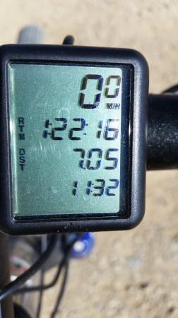 Price, UT: 1 hour 22 min ride time for a 7.5 mile loop doesn't include stops time