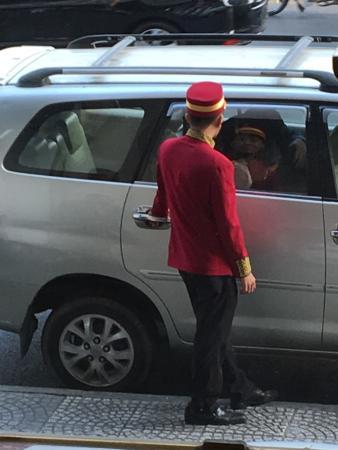 Silverland Central Hotel Door boy & Door boy - Picture of Silverland Central Hotel Ho Chi Minh City ...