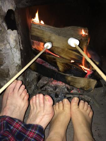 Pemi Cabins: Sticks and Marshmallows were available at the store, just does not get better than this!