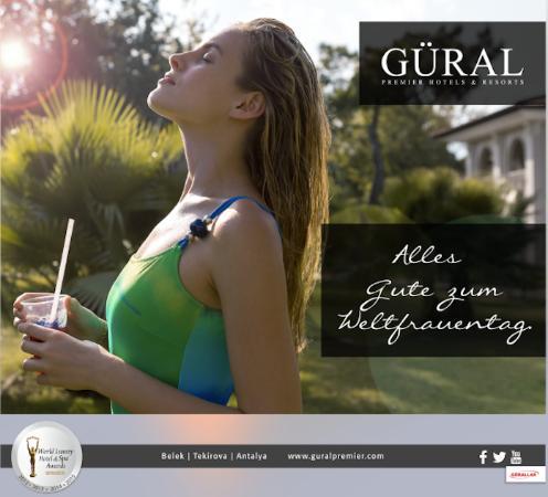 Gural Premier Belek: Alles Gute zum Weltfrauentag!