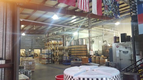 Big Boss Brewery: So Many Barrels