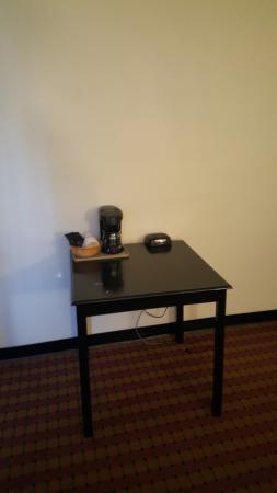 alarm clock on the table opposite of the bed picture of araamda rh tripadvisor com