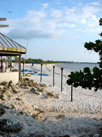 side shot of the tiki bar picture of sunset grill at little harbor rh tripadvisor com