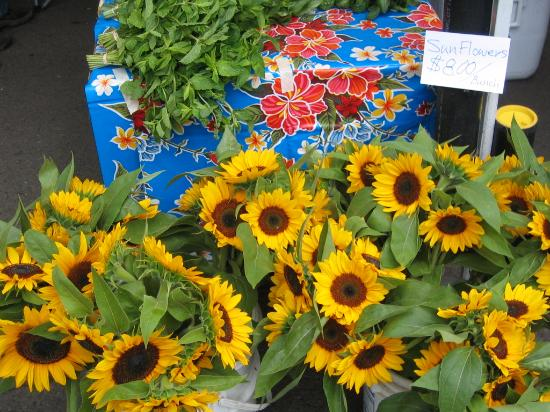 Milwaukie, OR: Bouquets and fresh herbs for sale
