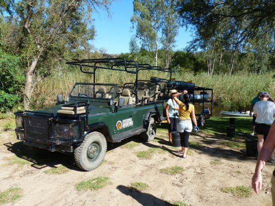 Addo, Sudáfrica: Kanufahrt