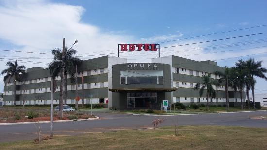 Opuka Park Hotel: Fachada do Hotel