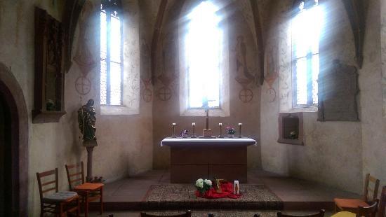 Alte Kapelle: The alter