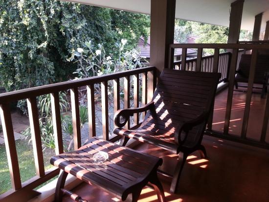 River Kwai Bridge Resort: Balkon