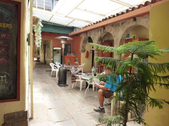 Hitchhikers Backpackers Cusco Hostel Foto