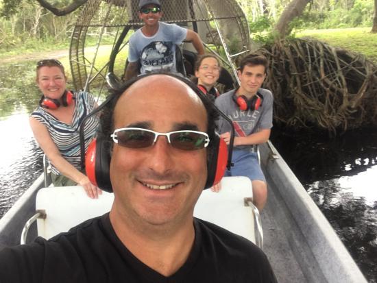 "The ""B"" Family Enjoying Air Boat USA - 2016"