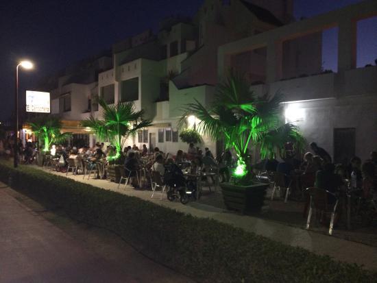 Terraza Noche De Verano Picture Of Restaurante Freiduria
