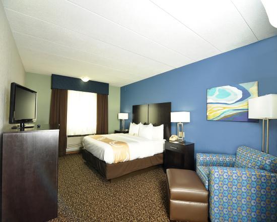Quality Inn: Brand New Room!