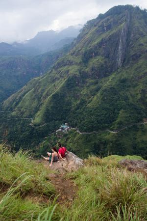 Tea Forest Lodge Guesthouse: Little Adam´s Peak - kousek od Tea Forest Lodge