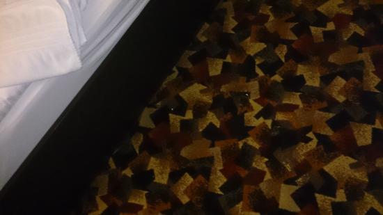 Burghotel Belzig: Zustand am zweiten Tag am Abend (keine Reinigung)