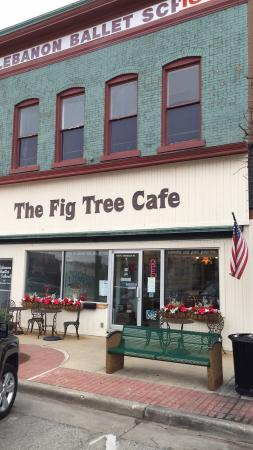 Lebanon, IN: We stopped at The Fig Tree for lunch on our way from Chicago to Cincinnati. The food was great a