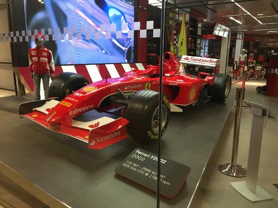 view of the ferrari store with a formula 1 car on display picture rh tripadvisor ie