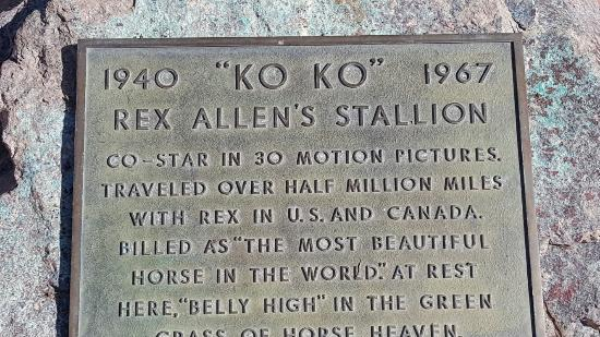 Rex Allen Arizona Cowboy Museum: 20160304_145253_large.jpg