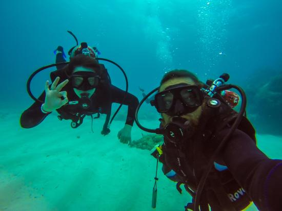 Ecodiving Tours: Me and Eric the Dive Master