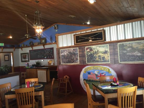 Yadkinville, Carolina del Nord: Battle Branch Cafe