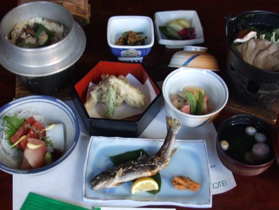 Inn Yokotei: 夕御膳-dinner