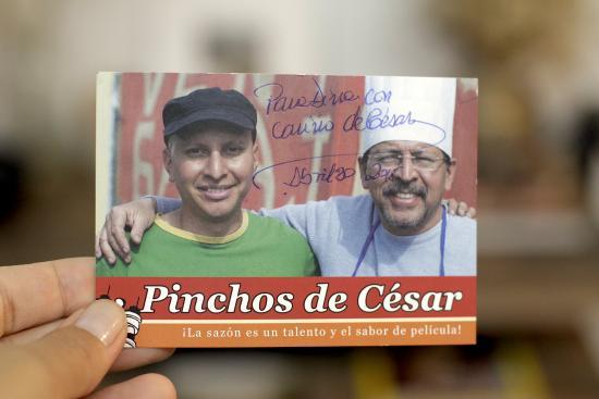 Pinchos de Cesar