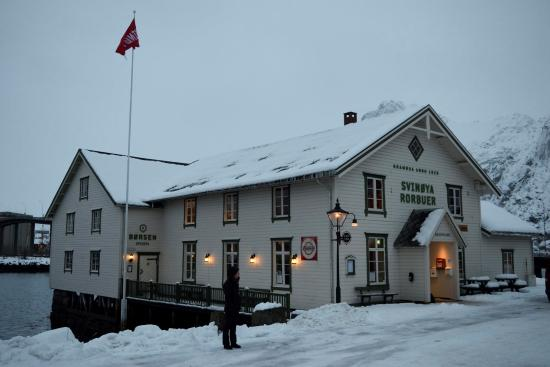 Wonderful Restaurant Specialising in Local Cod Dishes