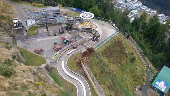 Queenstown, Nuova Zelanda: Gondola and luge rides