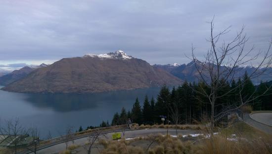 Queenstown, Nuova Zelanda: View from the top