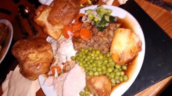 The Plough Inn: Carvery second to none.