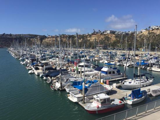 Dana Point Harbor, home of fancy yachts.