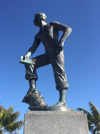 Dana Point, Califórnia: Statue of Richard Henry Dana, Jr.