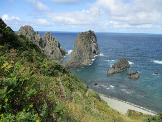 Shakotan Japan  city pictures gallery : 海岸線 Picture of Shakotan Peninsula, Shakotan cho TripAdvisor