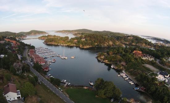 Tregde, Noruega: skjærgården