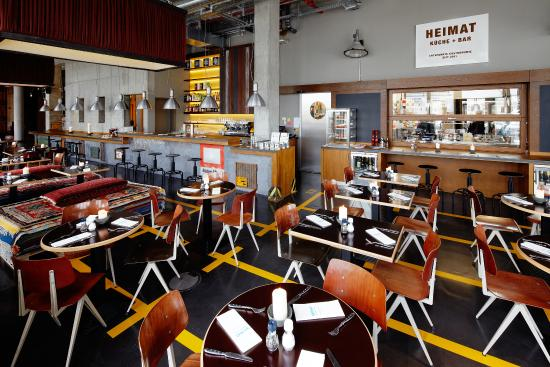 Heimat k che bar hamburg restaurant bewertungen for Design hotel 25 hamburg