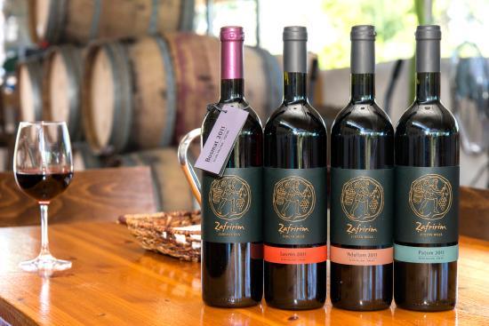 צפרירים, ישראל: The wines