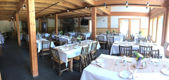 Berkshire East Ski Resort: Our lodges are wonderful for events and weddings