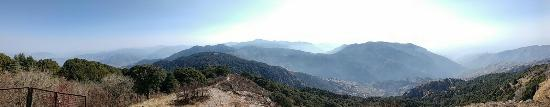 Pangot, Indien: view from brahmsthali trek