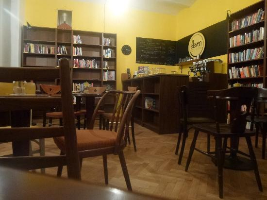 Eleven Books & Coffee: inside Eleven Books & Coffe
