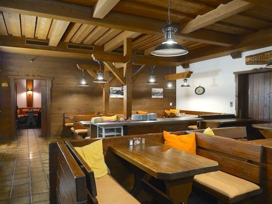 Hotel Künstleralm: Restaurant