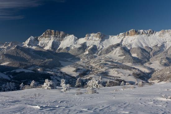 Gresse-en-Vercors, Frankrike: Domaine skiable de Gresse en Vercors