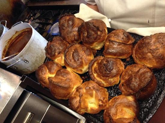 The Champion: Sunday Roasts with homemade Yorkies!