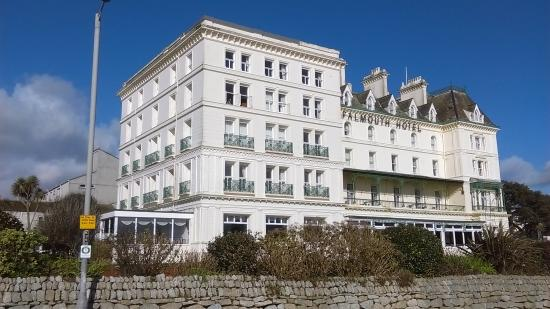 The Falmouth Hotel From Road