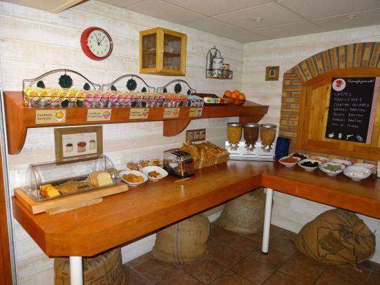 Plougastel Daoulas, Francja: petit déjeuner