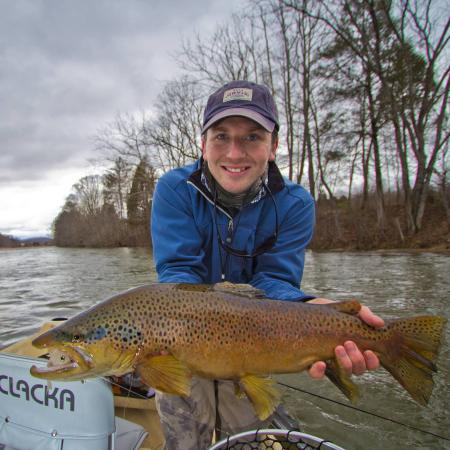 Bristol, VA: South Holston River streamer eater
