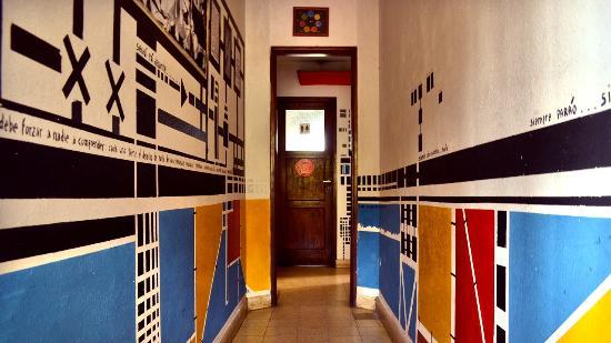Planeta Cumbrecita Hostel : Pasillo